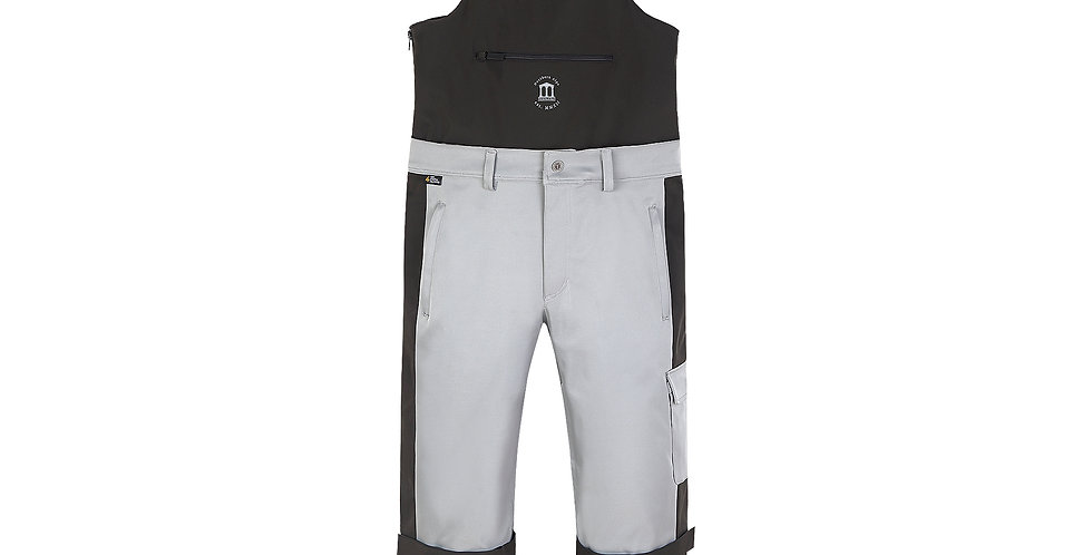 Doublechino Bib Pant - grey