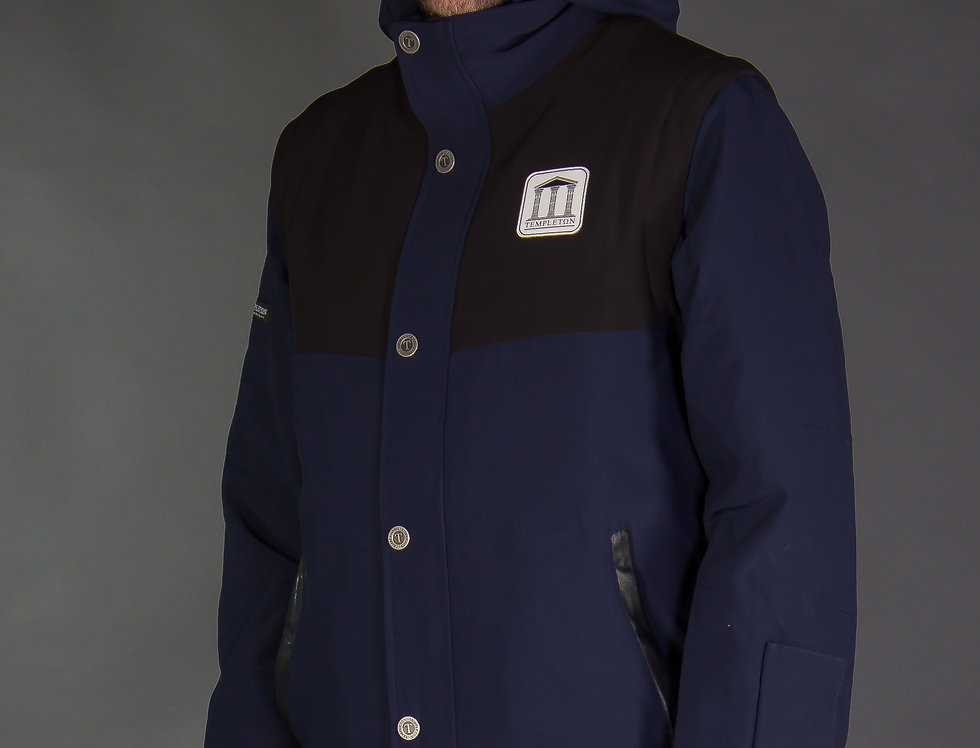 Triple Vest Jacket - navy