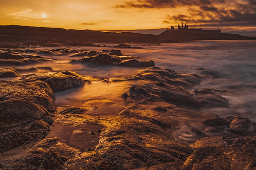 Dunstanburgh at Sunset - 2