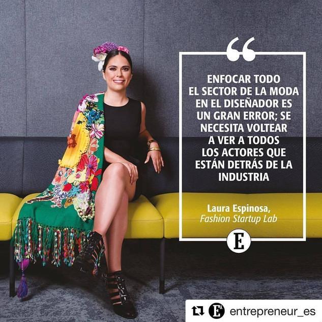 Laura eRRe en Entrepreneur : Fashion Startup Lab