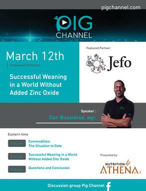 Webinar - March 12th