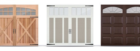 Looking for a New Garage Door? Check out C.H.I.'s new line of Driftwood Stained Steel Garage Doo