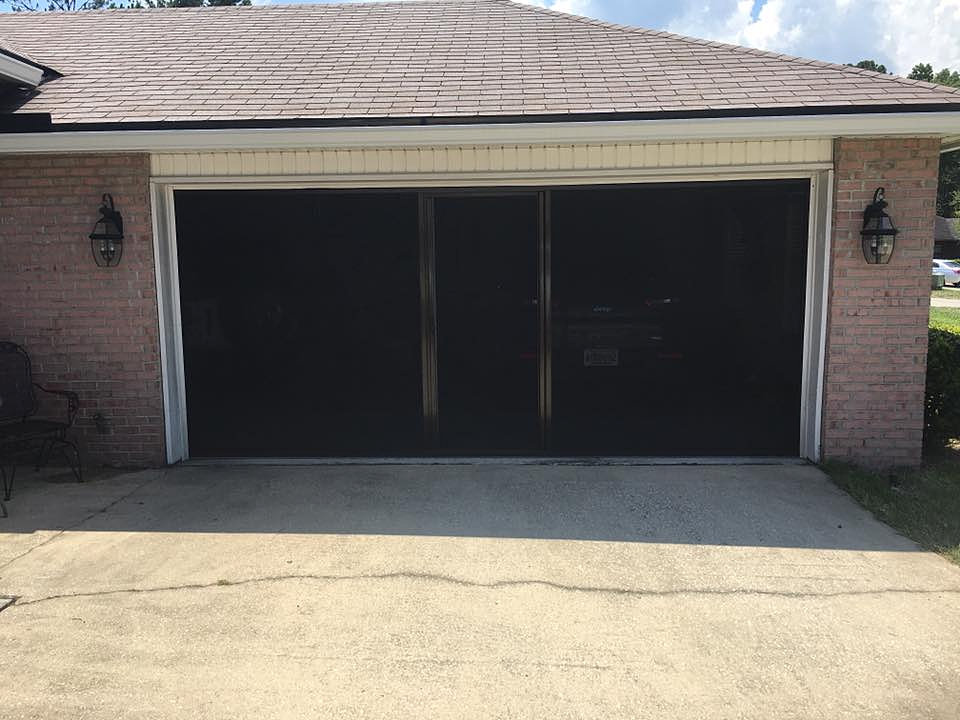 Garage Screens Amp Retractable Screens Jacksonville Fl