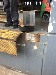Loading Dock Bumper Repair