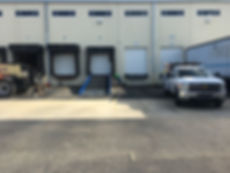 Loading Dock Ramp