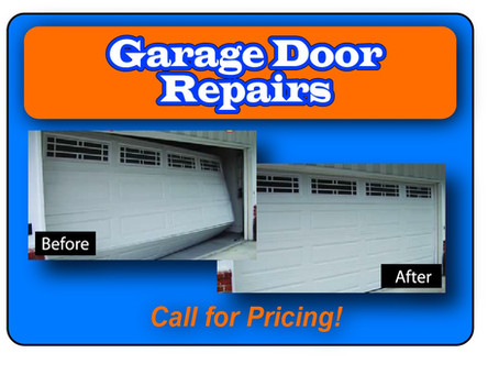 """Garage Door Repairs and Maintenance"""