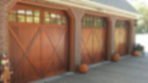 C.H.I. Carriage House Overlay Garage Door Model 5434