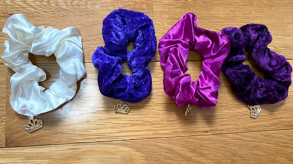 Orchid - Multi pack scrunchies