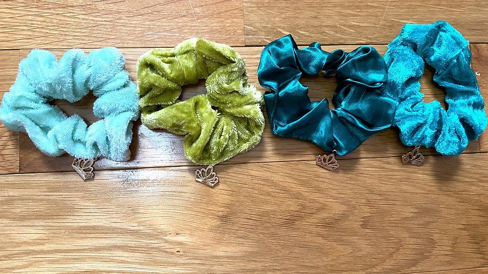 Ocean - Multi pack scrunchies