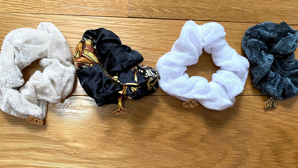 Day and Night - Multi pack scrunchies