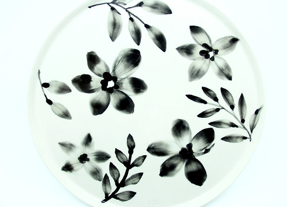 Painted Plate '28