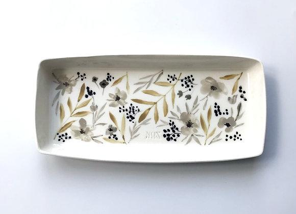 M Slim Plate Desenli