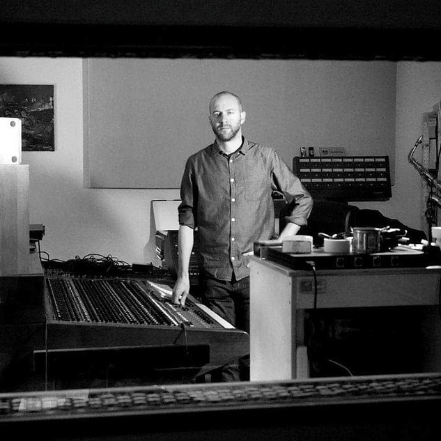 resident engineer & producer Matt Bordin