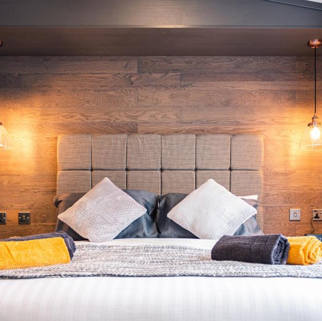 Master Room with Mood Lighting
