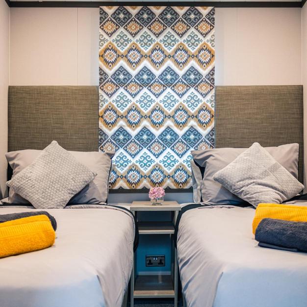 Spacious Twin Beds