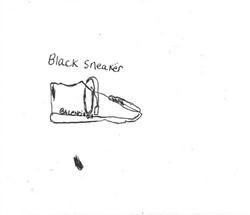 Jerard Harris (Black Sneaker)