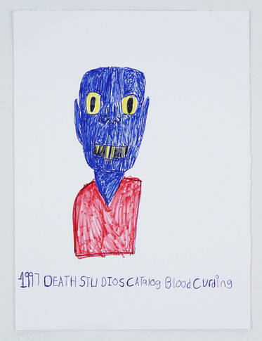 1997 Death Studios Catalogue Blood Curdling, 2017 SOLD