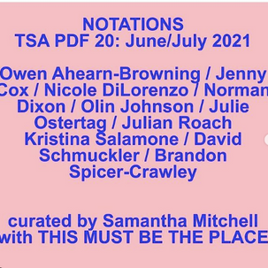 NOTATIONS: a downloadable exhibition at Tiger Strikes Asteroid