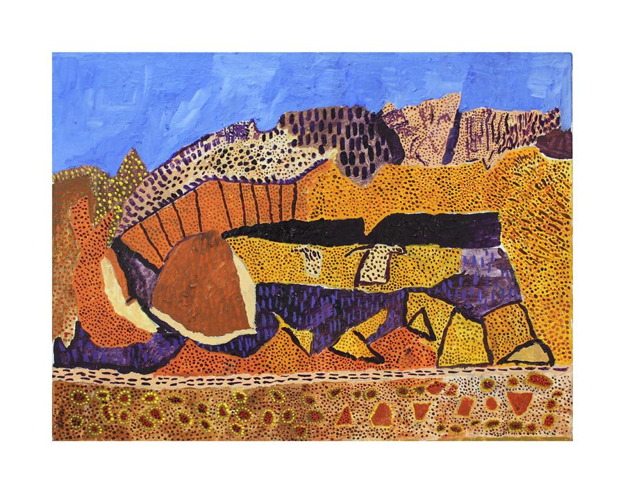Desert Landscape, 2015
