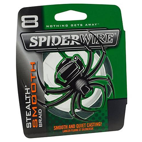 SPIDERWIRE Stealth Smooth Braid 125 verges