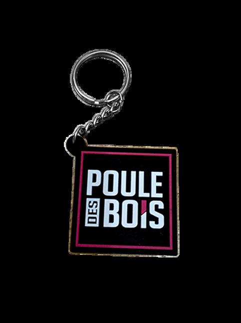 POULE DES BOIS Porte-clés