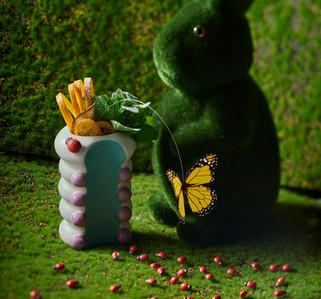 Yahalomis ceramic caterpillar cocktail c