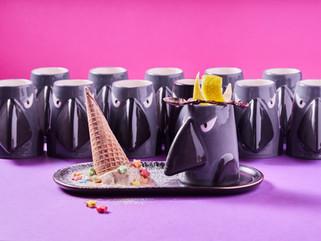 Yahalomis ceramic crow cocktail cup.jpg