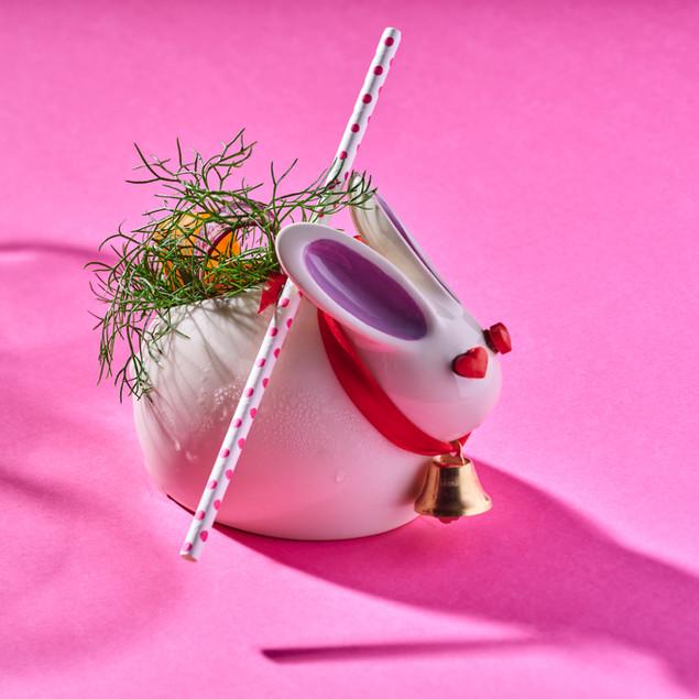 Yahalomis ceramic bunny cocktail cup.jpg