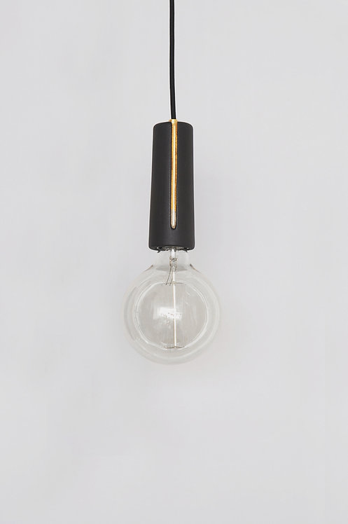 Black Canal Light with 24K Gold