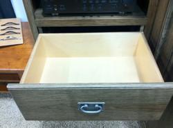 detail of drawer finsih