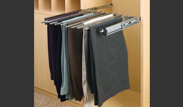 slider pants rack