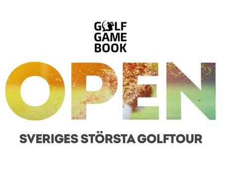 Golf GameBook Open - Sveriges största digitala golftour!