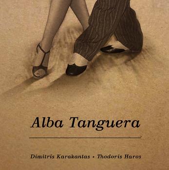 karakantas, dimitris karakantas, tango violin, alba tanguera, piazzolla