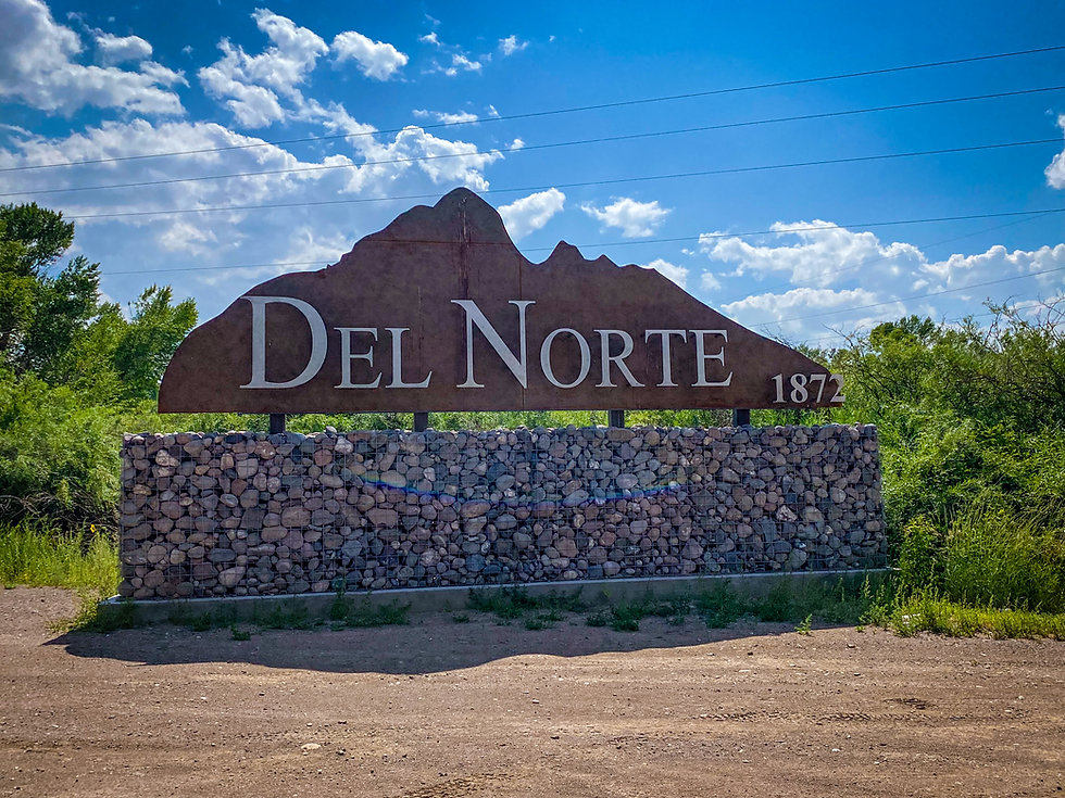 Del Norte Sign