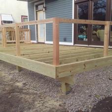 Deck Addition Construction