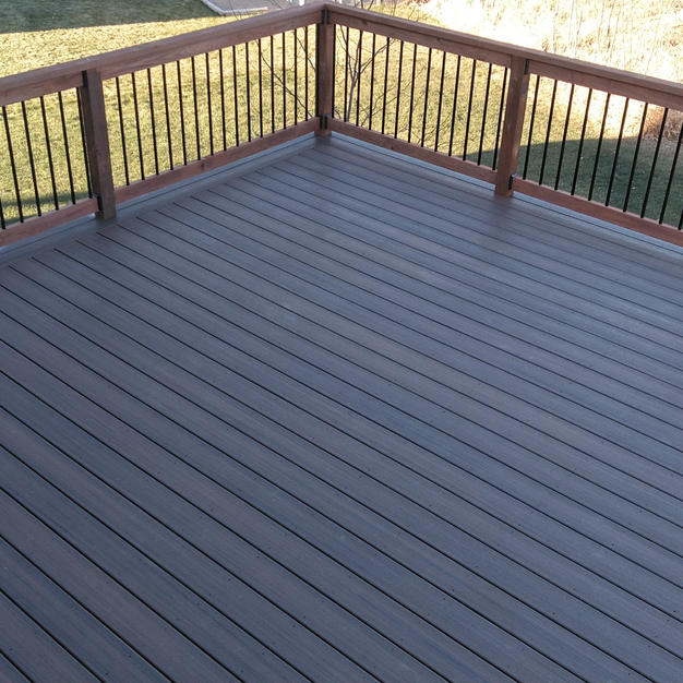 Trex Deck With Border