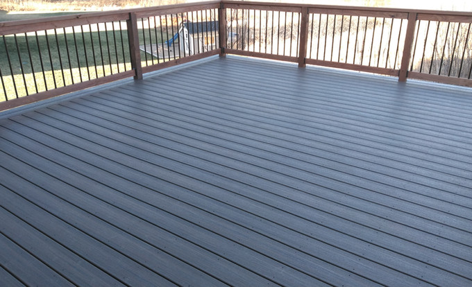 Trex Decking With Border