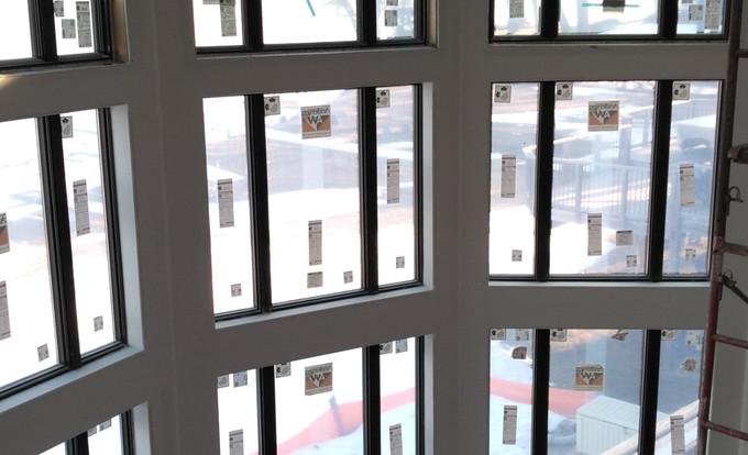 Tall Wall Framing and Windows