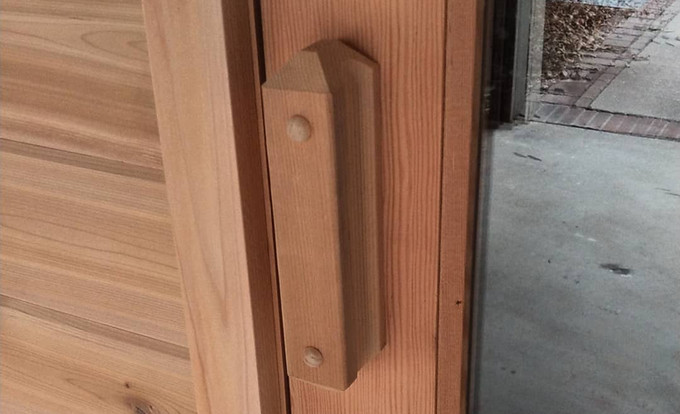 Handcrafted Custom Cedar Sauna