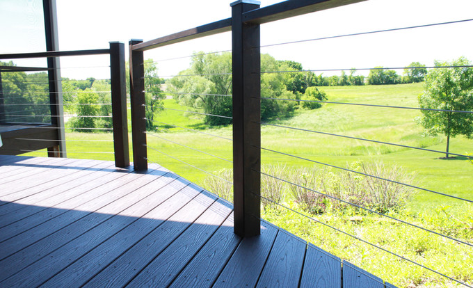 Cable Railing Trex Decking