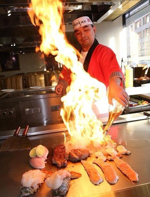 Shogun Birmingham, The Cube, Birmingham, Japanese Restaurant, Sushi, Teppanyaki, Sushi Conveyor, Japanese Chef,