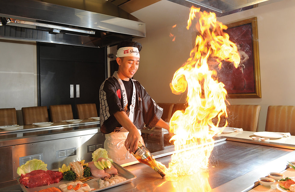Shogun Sushi Bar Teppanyaki Birmingham
