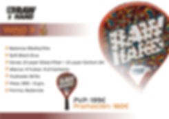Pala Padel W3 Orange