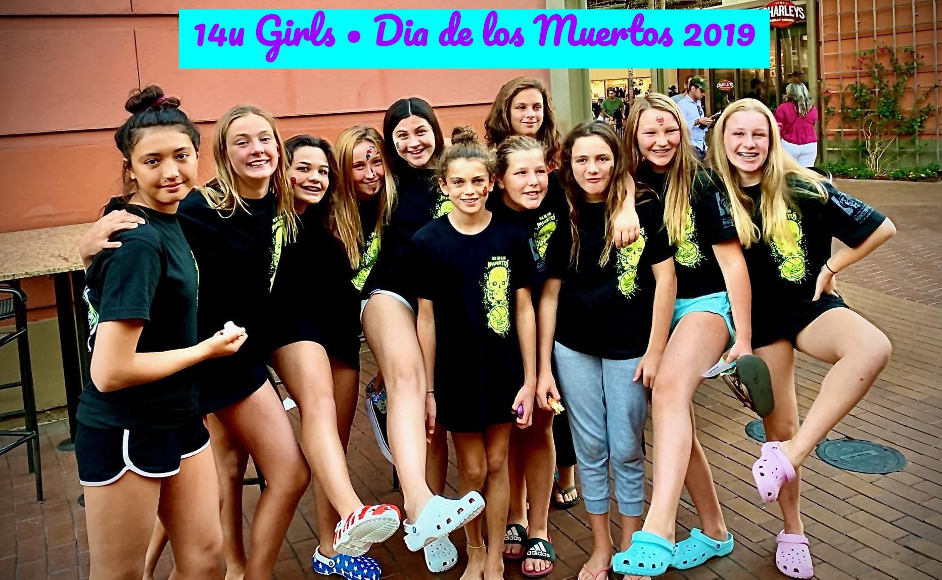 14U GIRLS Dio de los Muertos 2019