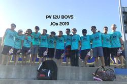 12U BOYS JOs 2019