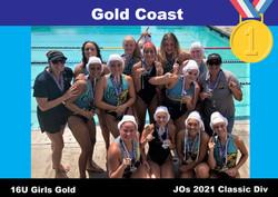 21 JO Classic 16U Girls Gold Coast 1st