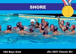 21 JO Classic Shore 18U Boys 1st Gold