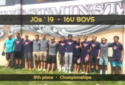 16U BOYS 8th in CHAMPS