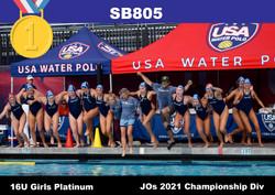 21 JO Champ 16U Girls SB805 1st Platinum