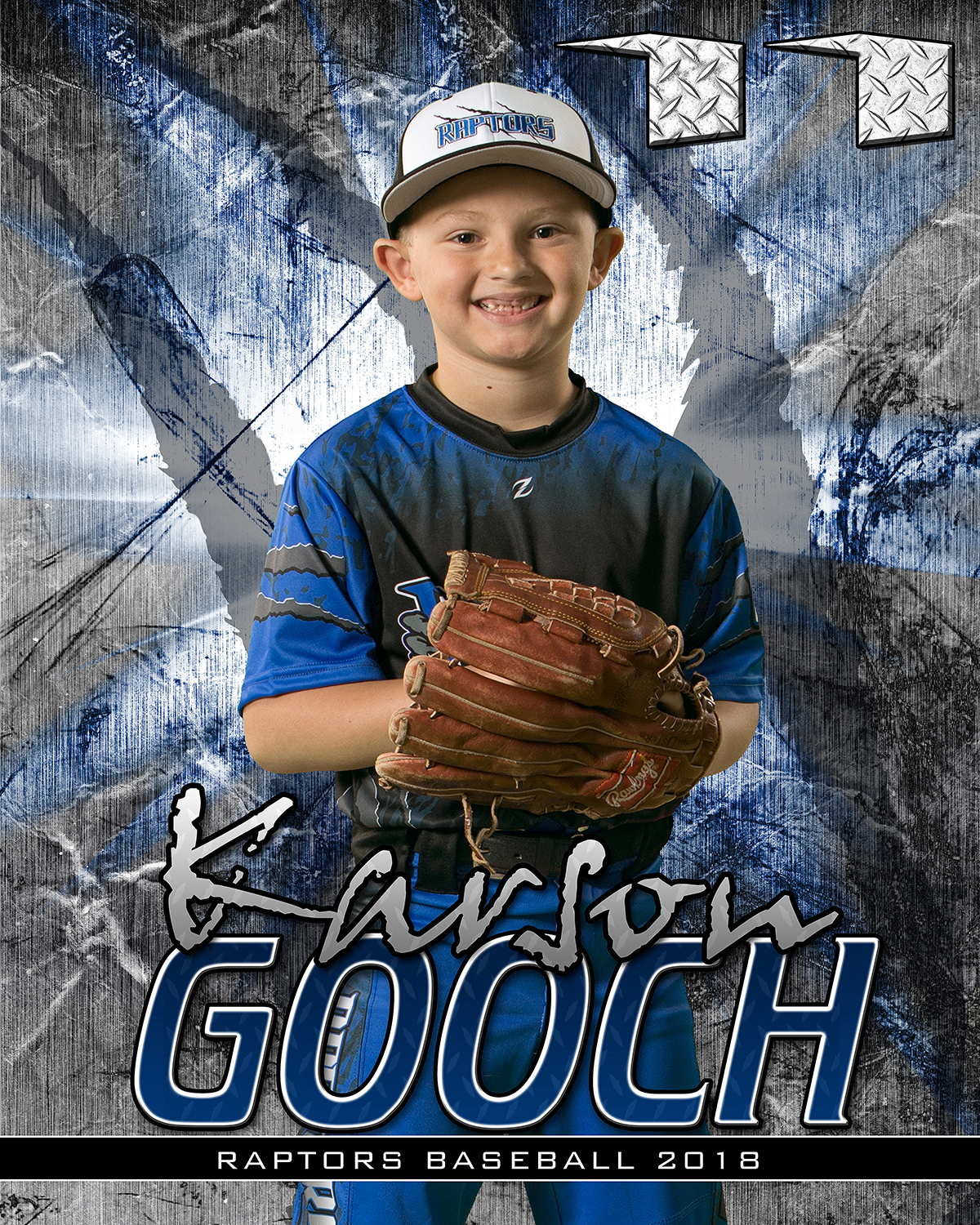 Baseball Player Banner